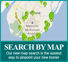 Search for St. Simons Island, Georgia Real Estate Search by Map